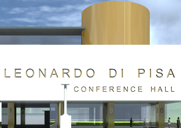 Conference Hall Pisa Italy by LD Architecture