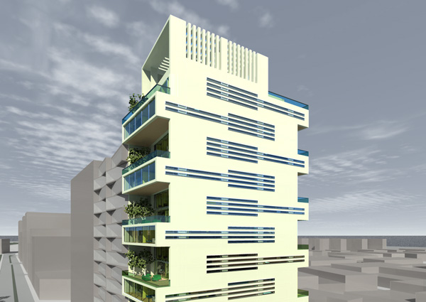 Appartments Lima Highrise by LD architecture