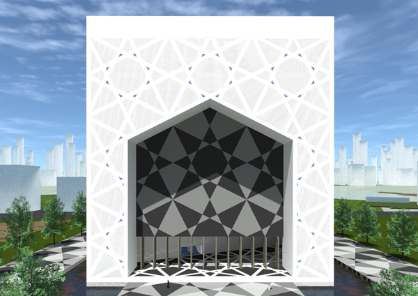 Mosque Dubai by LD architecture